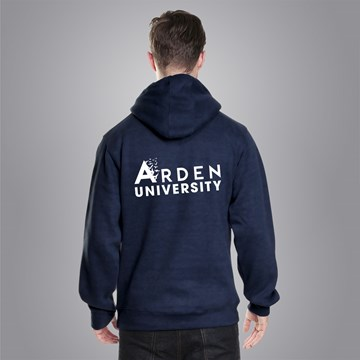 Arden Supersoft Hoodie- Navy and Black